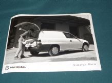 "VAUXHALL ASTRAVAN MERIT   factory issued 8x6"" press photo"